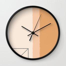 #11 Door geometry Wall Clock