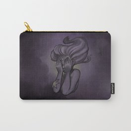 Mermaid Meditation: Infinity Carry-All Pouch