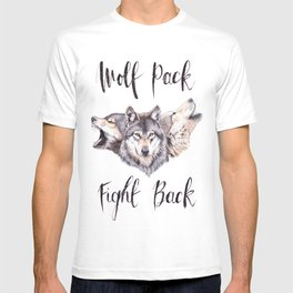 Wolf Pack Fight Back T-shirt