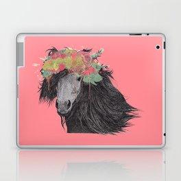 Shetland Pony (Pastel Red Edition) Laptop & iPad Skin