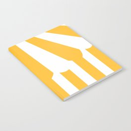 yellow tent Notebook