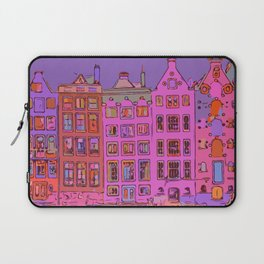 Canal houses Amsterdam the Netherlands Laptop Sleeve