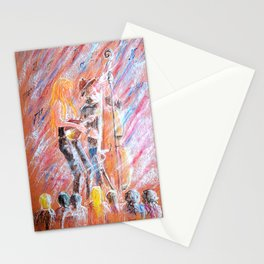 I Love Bluegrass Pastel Painting Stationery Cards