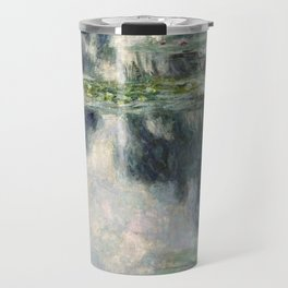 Pond with Water Lilies - Claude Monet Travel Mug