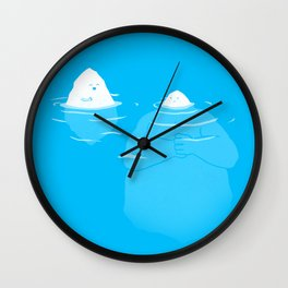 The Tip Of The Iceberg Wall Clock