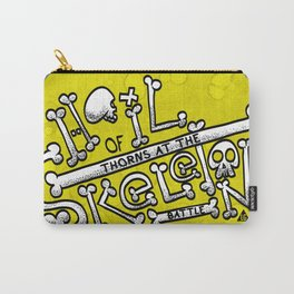 Hail of Thorns at the Skeleton Battle (D&D Quote Series) Carry-All Pouch