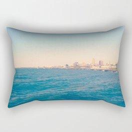 Cleveland Skyline  Rectangular Pillow