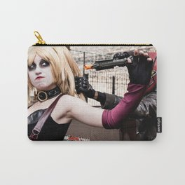 Harley Quinn Bridget & Red Hood Robfury Carry-All Pouch