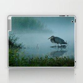 Blue Heron Misty Morning Laptop & iPad Skin