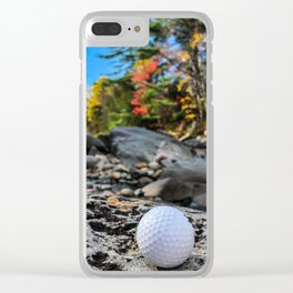 Fall on the Carrabassett (1) Clear iPhone Case