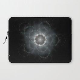 Space Flower Fractal Laptop Sleeve