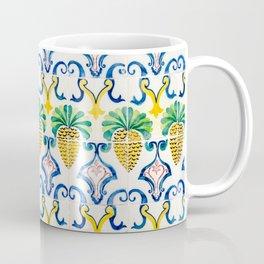 Pineapple Tiles Coffee Mug