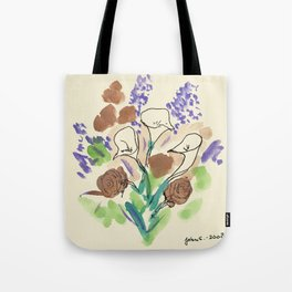 Bouquet of Calla Lillies by John E. Tote Bag