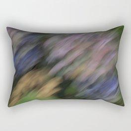 Abstract Hydrangea Rectangular Pillow