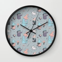 Funny Wizards Wall Clock