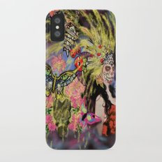 Fireworks for the Dead iPhone X Slim Case