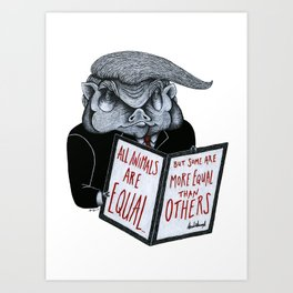 The Executive Order Art Print