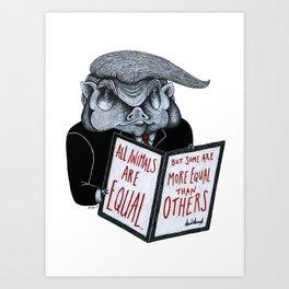 The Executive Order Art Print