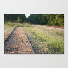 Counter Rail Canvas Print