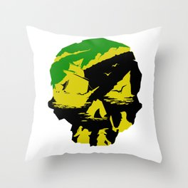 Sea of Thieves - Pirates of the Caribbean Throw Pillow