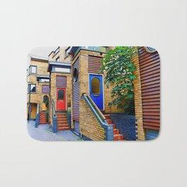 Stairs to Nowhere  -  Greenwich London Bath Mat