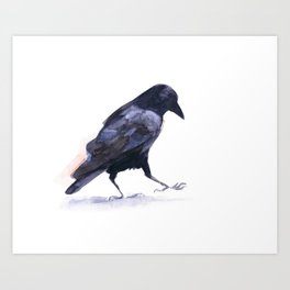 Crow #2 Art Print