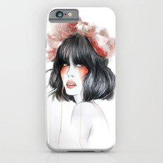 Flower Crown // Fashion Illustration Slim Case iPhone 6s