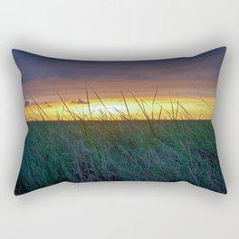 Sunset in the Marsh Rectangular Pillow