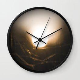 Through the web II Wall Clock