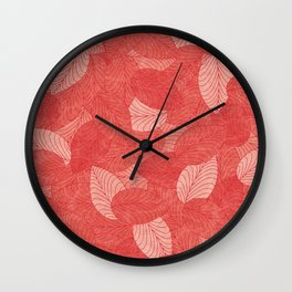 Let the Leaves Fall #08 Wall Clock
