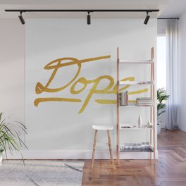 Gold Dope 2 Wall Mural