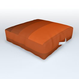 Sienna Spiced Orange - Color Therapy Outdoor Floor Cushion