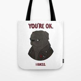 Mean Puggin' Tote Bag