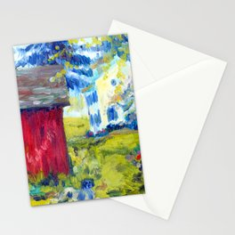 Tir na Nog Farm - Red Shed Stationery Cards