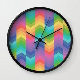 Arrow's Pattern Wall Clock