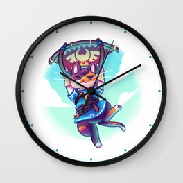 Cosplay Kittens - Kitten of The Wild Wall Clock