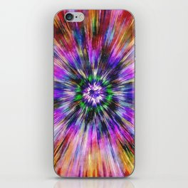 Vibrant Tie Dye iPhone Skin