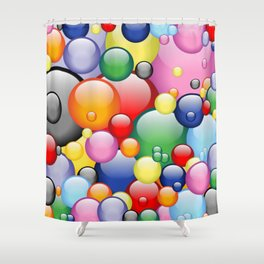 Spaceballs High In The Sky Shower Curtain