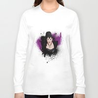 evil queen Long Sleeve T-shirts featuring An Evil Queen by Regally Evil