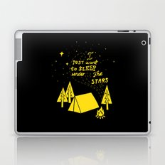 I Just Want To Sleep Under The Stars Laptop & iPad Skin