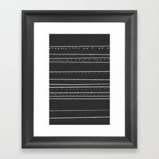 168 Drops & Droplets  Framed Art Print