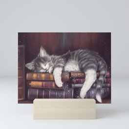 Keeper of the Books Mini Art Print