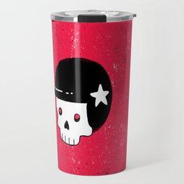 skull dude Travel Mug