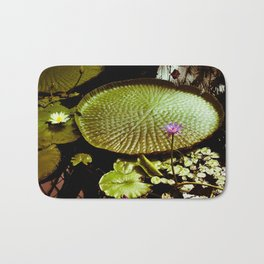 Life Upon A Lily Pad Bath Mat