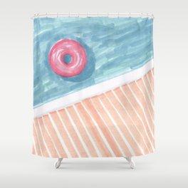 Alone #society6 #decor #buyart Shower Curtain