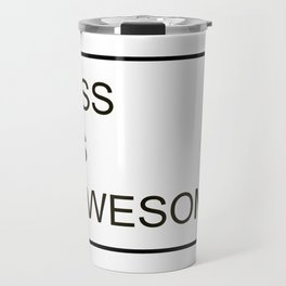 CSS Is Awesome Travel Mug