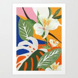 Garden - Abstract Art Art Print