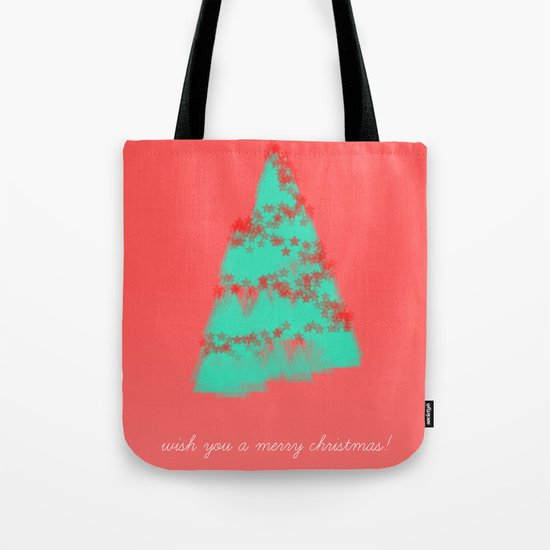 wish you a merry christmas! Tote Bag