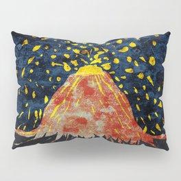 Erupting volcano Pillow Sham