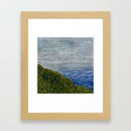 Kahakai Framed Art Print